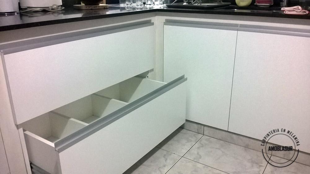 Muebles De Cocina A Medida Precios | Cocinas En Melamina Alacenas Bajo Mesada Carpinteria A Medida